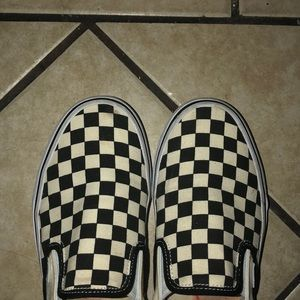 Other - I'm selling my black and white checker vans❤️